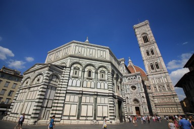 The Duomo is the 4th largest church in the world after St. Peter's in Rome, St. Paul's in London, and the cathedral in Milan.